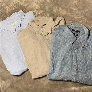 Men's Uniqlo Small Long Sleeve Button Down Shirts